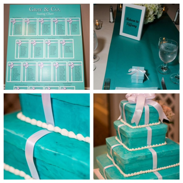 The Tiffany Details for my Tiffany-themed Wedding