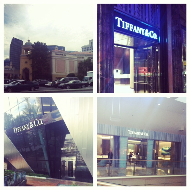 I came, I saw, and I conquered four Tiffany and Company's!