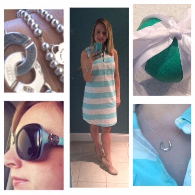 Easter Ham with A Side of Tiffany Blue