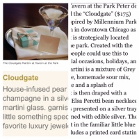 Chicago Bar Offers Cocktail with a Tiffany Blue Box