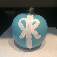 The Tiffany Blue Pumpkin Serves a Bigger Purpose than looking cute: Teal Pumpkin Project
